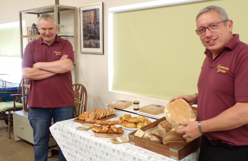 The team from Hambleton Bakery