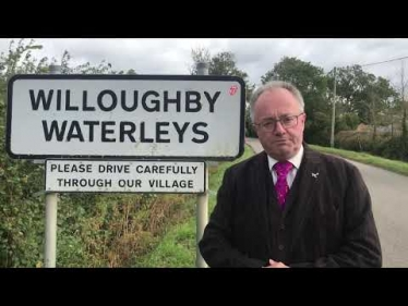 Embedded thumbnail for Road Safety at Willoughby Waterleys